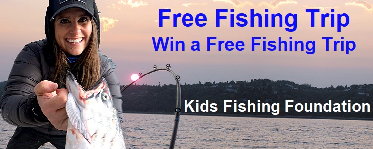 free fishing trip kids fishing foundation