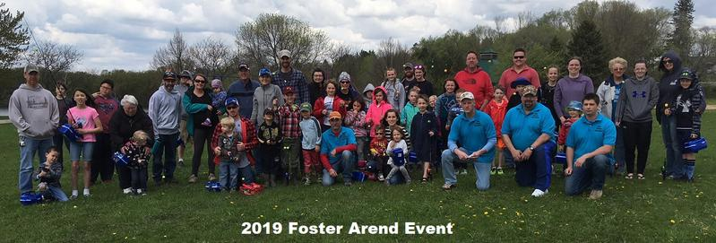 2019 foster arend event kids fishing foundation