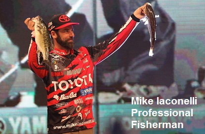 Mike Iaconelli professional fisherman