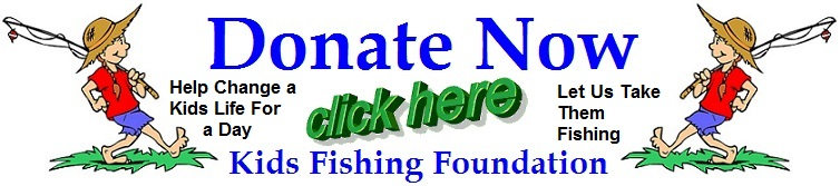 donation banner kids fishing foundation